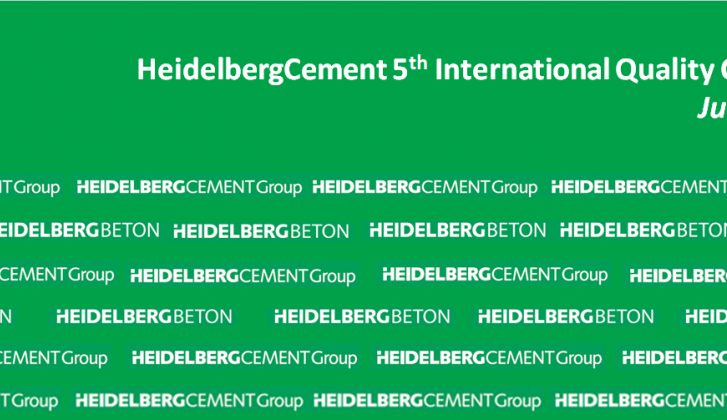 Heidelbergcement 5th international quality conference.