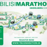 Tbilisimarathon map 2017.